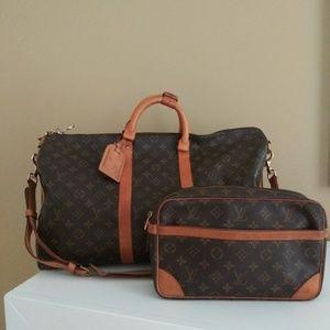 Louis Vuitton Vintage Bandouliere 50 Set